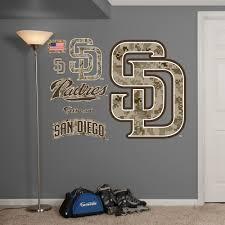 San Diego Padres Camouflage Logo San Diego Padres San Diego Padres