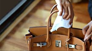 how to remove stains from designer bags