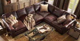 living room leather couches
