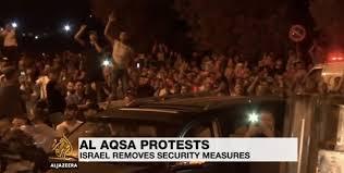 gemuruh takbir sambut kekalahan zionis di al aqsa liputan
