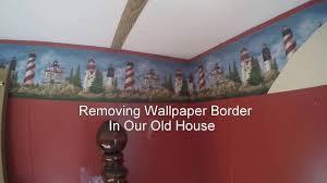taking down wallpaper border diy you