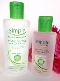 micellar water and eye makeup remover