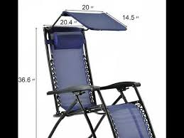 zero gravity outdoor folding lounge
