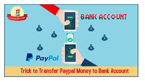 transfer paypal money to bank account