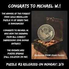 2020 FFGM Treasure Hunt #1 - Thrill Of ...