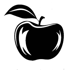 Red Apple Vinyl Decal For Cars Walls Tumblers Cups Laptops Windows Bumper Sticker Laptop Car Window Wall Phone Tumbler Phone Yeti Apple Vector Apple Silhouette Vinyl Decals