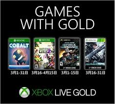 march 2019 games with gold les