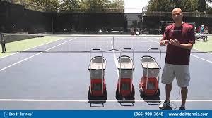 Lobster Tennis Ball Machines - Elite ...