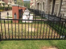 China Custom Green Powder Coated Fencing Wrought Iron Garden Safety Fence China Ornamental Farm Security Fences Hot Selling Metal Fence