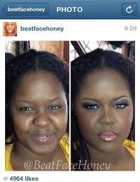 dramatic makeup transformation
