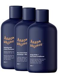 Aaron Wallace: 3-Step Haircare System | Black Men's Hair & Beard