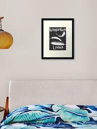 Wingardium Leviosa Framed Art Print By Wichuwow Redbubble