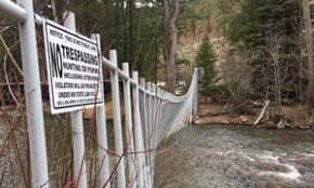 Who Owns Water The Us Landowners Putting Barbed Wire Across Rivers Environment The Guardian
