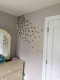 Amazonsmile Gold Wall Decal Dots 200 Decals Easy Peel Stick Safe On Walls Paint Removable Metallic Viny Polka Dot Decor Gold Wall Decals Round Decor
