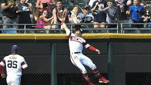 Sport: Watch: White Sox center fielder Adam Engel robs third home ...