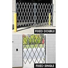 Security Gates Scissor Gates Warehouse Gates In Stock Uline Ca