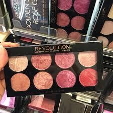 makeup revolution blush palette golden