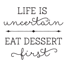 eat dessert first whimsical wall quotes decal com