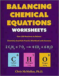 balancing chemical equations worksheets