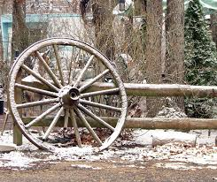 Free Stock Photo Of Wagon Wheel Leaning On Fence Online Download Latest Free Images And Free Illustrations