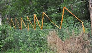 Experimental Deer Fence