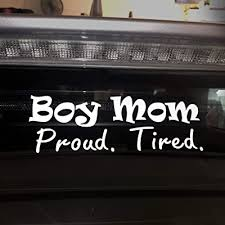Boy Mom Life Sticker Vinyl Car Or Laptop Decal Die Cut Graphic White Buy Products Online With Ubuy Ghana In Affordable Prices B0848pblhs