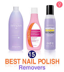 15 best nail polish removers