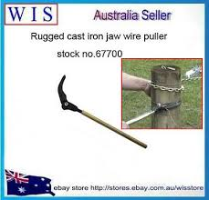 Manual Fence Wire Strainer For Plain And Barbed Wire Bar Wire Strainer Puller Ebay