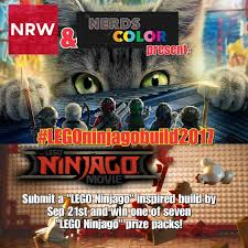 The LEGO Ninjago Movie 'Inspired Build' Contest – The Nerds of Color