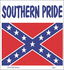 Large Car Window Sticker Southern Pride