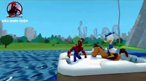 Phim Hoạt Hình siêu nhân nhện đua xe, phim hoạt hình siêu nhân cho bé 2016  - YouTube