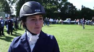 Abigail Walters pleased with Land Rover Burghley Horse Trials showing -  YouTube