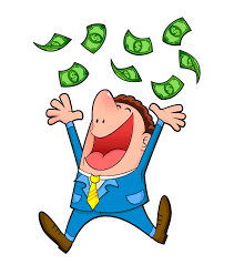 Image result for cartoon image of lottery