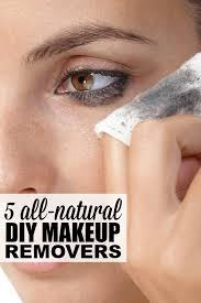 5 all natural diy makeup removers