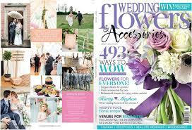 published in wedding flowers magazine