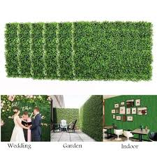 Artificial Lawn Fence Panels Green Plants Tiles Privacy Screen Lawn Uv Protection Gardens Fence Wall Decor For Indoor Outdoor Artificial Lawn Aliexpress