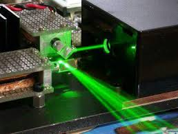 homemade laser projector with
