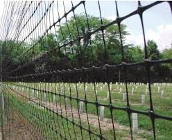A 7 1 2 Foot Plastic Mesh Fence Provides A Physical Barrier To Deer Download Scientific Diagram