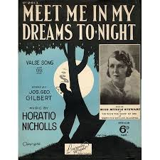 Meet Me In My Dreams Tonight - Valse Song featuring Miss Myrtle Stewart  only £9.00