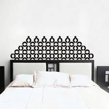 Headboard Wall Decal Inspired Geometric Vinyl Art Bedroom Mural Dorm Decor Gift For Sale Online