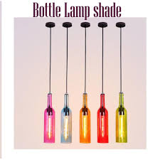 style metal wine bottle chandelier