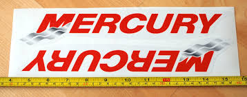 Mercury Motor Boat Decals Stickers Emblems Logos Vipselling Graphics