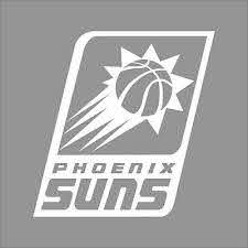 Phoenix Suns Nba Team Logo 1color Vinyl Decal Sticker Car Window Wall Ebay
