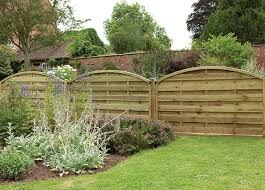 1 8m X 1 1m Pressure Treated Decorative Europa Domed Fence Panel Forest Garden