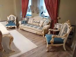 kursi tamu sofa ukir kayu jati asli