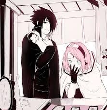 Awww, haha so cute ❤ | Sasusaku, Pinturas de animais, Anime