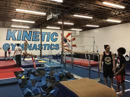 kinetic gymnastics gymnastics center