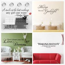best offer e art words quote wall sticker flowers family