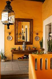 color of the month orange mexican