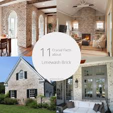 11 crucial facts about limewash brick